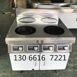 4头电磁煲仔炉 餐厅厨房用的煲仔炉380伏电图片