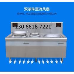500人食堂大锅灶 大功率电磁炒锅 大小组合电磁灶电磁炉图片
