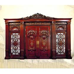 复合门厂家,洛阳复合门,台前县晶鑫木业生产厂(查看)图片