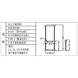 广东工具箱拉杆、东莞天誉实力厂家、工具箱拉杆铁质图片