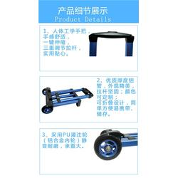 双轮设计折叠行李车-折叠行李车-tyxb东莞天誉(查看)价格