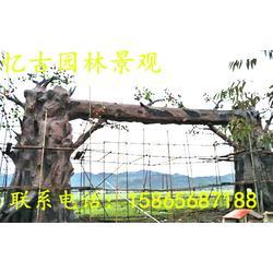 假树大门-假树大门制作-假树大门专业厂家图片