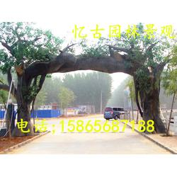 生态园大门-好看的生态园大门图片