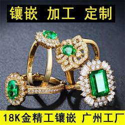 14k纯金戒指广州加工厂工艺好|臻迈珠宝|14k纯金戒指图片