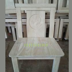 供应实木橡胶木大鱼椅子白茬实木靠背椅白坯酒店餐馆桌椅白茬图片