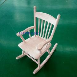 供应实木新中式摇椅休闲桌椅白茬图片