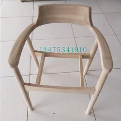 供应实木桌椅白茬实木美式广岛椅白茬实木简约总统椅办公会议恰谈椅白茬图片