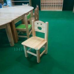 供应实木儿童桌椅白茬实木儿童餐椅农家乐小靠背椅白茬幼儿园小餐桌餐椅图片