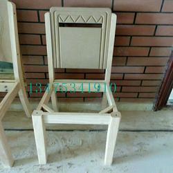 供应实木桌椅白茬实木大白靠背餐椅白茬酒店饭店靠背椅代拍搭档餐椅白茬图片