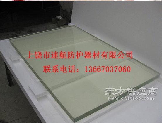 厂家直销防辐射高铅玻璃18mm厚大小可定制图片