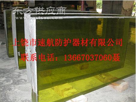 专业定制zf6核工业防辐射铅玻璃厂家直销图片