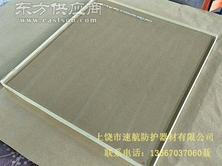 厂家现货直销1200mm*1200mm防辐射铅玻璃图片
