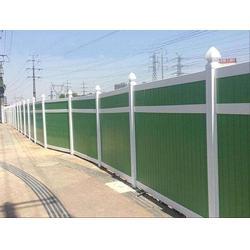 PVC工工程围墙、市政施工围挡供应安装图片