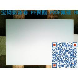 江苏省盐城市宝钢彩涂卷 上海宝钢彩涂板砖红品质好的图片
