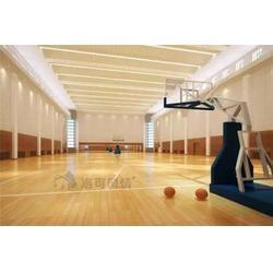 运动木地板,体育运动木地板安装,洛可风情运动地板(多图)图片