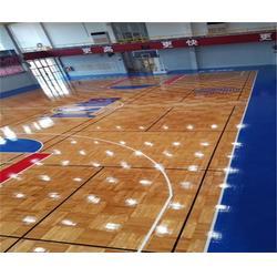 篮球地板|洛可风情运动地板(优质商家)|室外篮球地板图片
