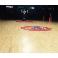 运动木地板_篮球场体育运动木地板_洛可风情运动地板图片