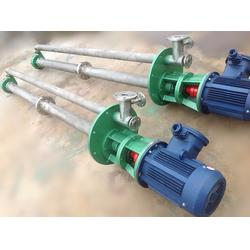 招远液下渣浆泵-宏伟泵业-耐酸液下渣浆泵图片