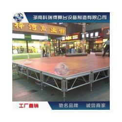 科瑞得专业生产铝合金舞台 铝合金玻璃舞台 铝合金圆形舞台厂家图片
