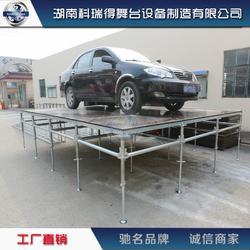舞台桁架厂家专业生产铝合金拼装舞台 雷亚架简易快装舞台图片