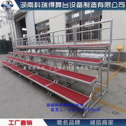 专业生产铝合金合唱台 钢铁合影站架 纯铝合金合唱台厂家图片