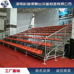 生产三层看台座椅四层舞台学校篮球观众席五层钢铁看台图片