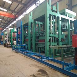 连锁砖砖机生产线 重庆砖机生产线 天匠专业彩砖机厂家图片