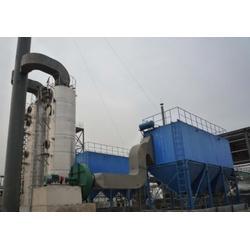 炼油厂锅炉脱尘技术工程 燃煤锅炉脱硫除尘设备安装图片