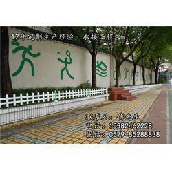 创鸿装饰按需定做、PVC草坪护栏厂、嘉兴PVC草坪护栏图片