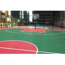 雁塔区硅pu篮球场-硅pu篮球场销售-博泰体育图片