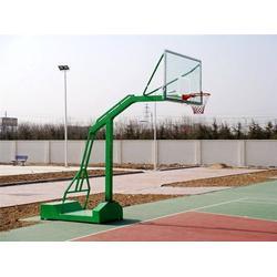 王益区地埋单臂篮球架 博泰体育值得信赖 地埋单臂篮球架