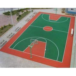 永寿硅pu篮球场-硅pu篮球场施工-博泰体育图片