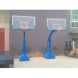 石泉地埋单臂篮球架-博泰体育产品?#35270;?#20215;廉