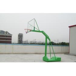 比赛用电动液压篮球架,安康电动液压篮球架,博泰体育产品质量好图片