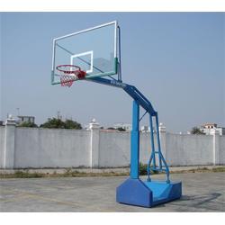 移动单臂篮球架-博泰体育-开封篮球架图片