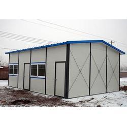 彩钢活动板房_通盛彩钢彩钢活动板房_彩钢活动板房安装图片
