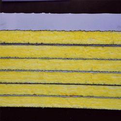 岩棉复合板门-通盛彩钢-岩棉复合板(在线咨询)岩棉复合板图片