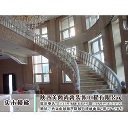 实木楼梯-高陵实木楼梯-美阁尚寓(优质商家)图片