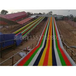 七彩旱雪雪圈滑道生产厂家  景区游乐场滑雪场项目新走向图片