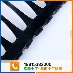 单向塑料土工格栅厂家-铭鑫工程材料-单向塑料土工格栅图片