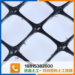 铭鑫工程材料、双向塑料土工格栅 供应、双向塑料土工格栅图片