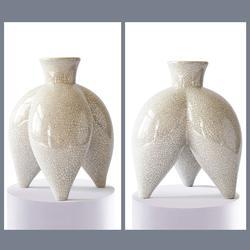 抽象雕塑-现代陶艺雕塑-巴彦淖尔雕塑图片