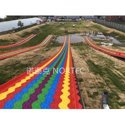 四季旱雪滑道生產廠家滑道設計鋪建七彩滑道規劃圖片