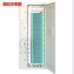 四网合一光纤配线架576芯ODF光纤机柜720芯配线架图片