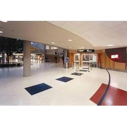 pvc地板,苏州壹扬地坪材料,pvc地板施工图片