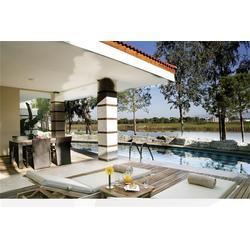 別墅泳池設計-別墅泳池-碧浪菲爾游泳池圖片