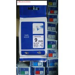 XD标签色带,标签带,兄弟标签纸TZ-231 12mm,9mm 蓝底黑字TZ-651图片