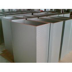 中航空调厂家直销,山西双层彩钢玻璃棉复合风管图片