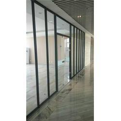 日照办公室玻璃隔断-亮雅装饰性价比高-办公室玻璃隔断材质图片