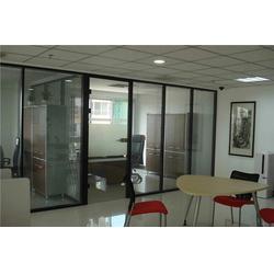 莱芜办公室玻璃隔断-亮雅装饰性价比高-办公室玻璃隔断价图片